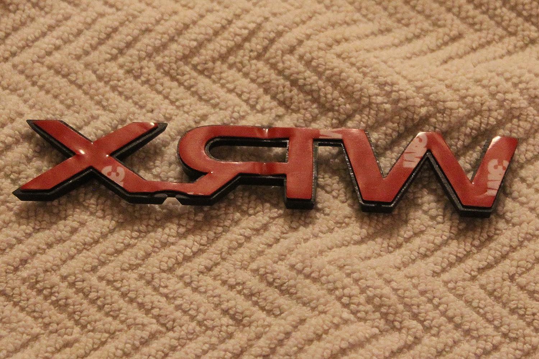 GetUrGear Trunk Emblem Badge for WRX 2015+ Glossy Black