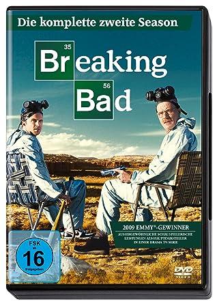 Breaking Bad Die Komplette Zweite Season 4 Dvds Amazonde