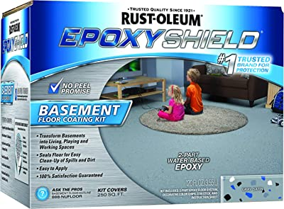 Rust-Oleum EpoxyShield Basement Floor Kit