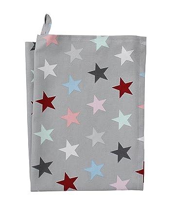 Krasilnikoff Red Big Star 50x70 cm W