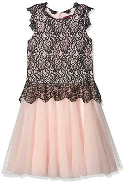 bb07f6b19 Derhy Leany - Vestido Para Niñas, color Rosa (Gris/Rose), talla 14 ...