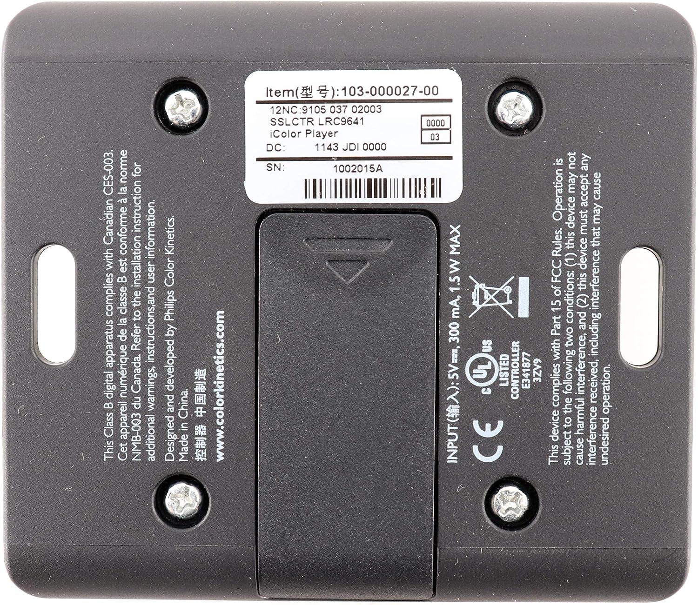 Color Kinetics 103-000027-00 iColor Player DMX Controller
