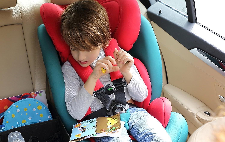 Auto-Sicherheitsgurt Schwarz FüR Alle GurtbäNder Sicherheitsschnalle FüR Baby