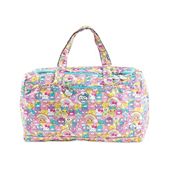 7f3d8fd970b Amazon.com   JuJuBe Starlet Large Overnight Duffle Bag, Sanrio Collection - Hello  Sanrio Sweets   Baby