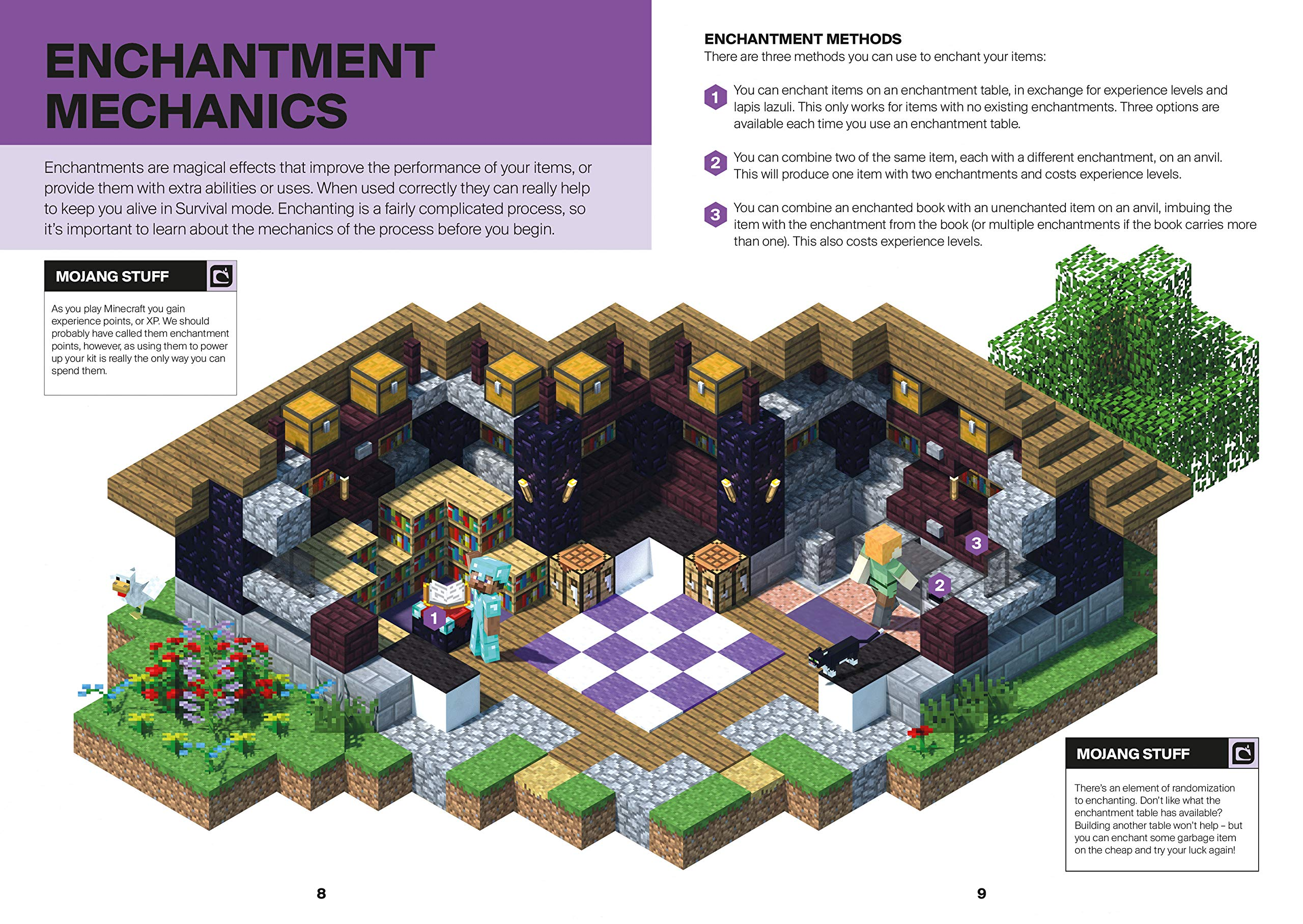 Minecraft: Guide to Enchantments & Potions: Mojang Ab, The