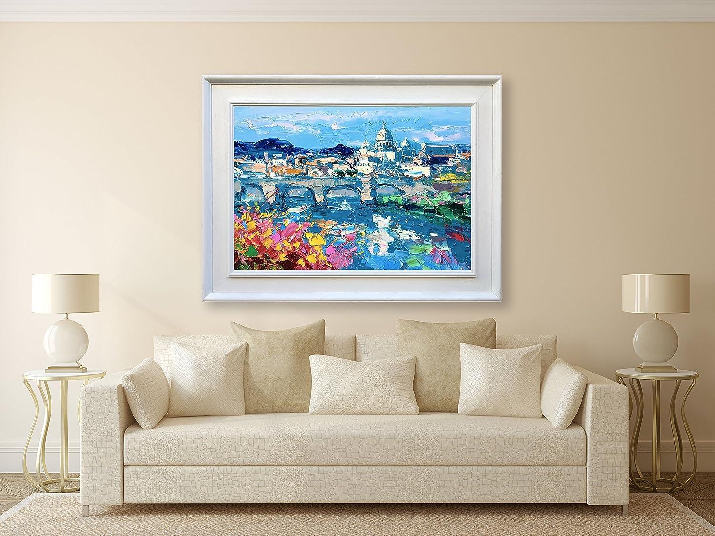 Amazon.com: Rome Art Italy Canvas Painting Large Vatican City Scape ...