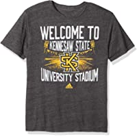 Adidas NCAA 体育场家居三混纺短袖 T 恤