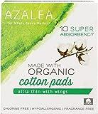 Azalea, Organic Cotton Pads, Super, 10 ct