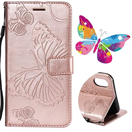 for iphone xs max wallet case sibytech flower tree design pu