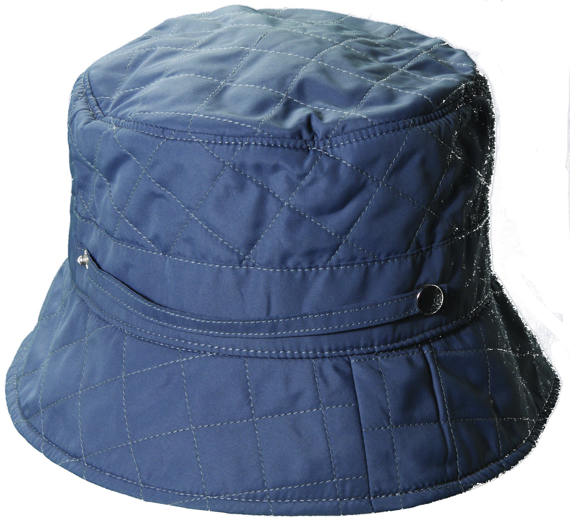 SCALA Quilted Rain HAT (Grey)