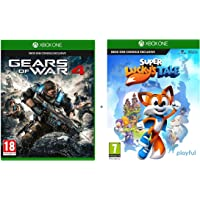 Xbox One Game Twin Pack:  God of War 4 and Super Luck's Tale