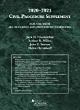 Civil Procedure Supplement, for Use with All Pleading and Procedure Casebooks, 2020-2021 (American Casebook Series)