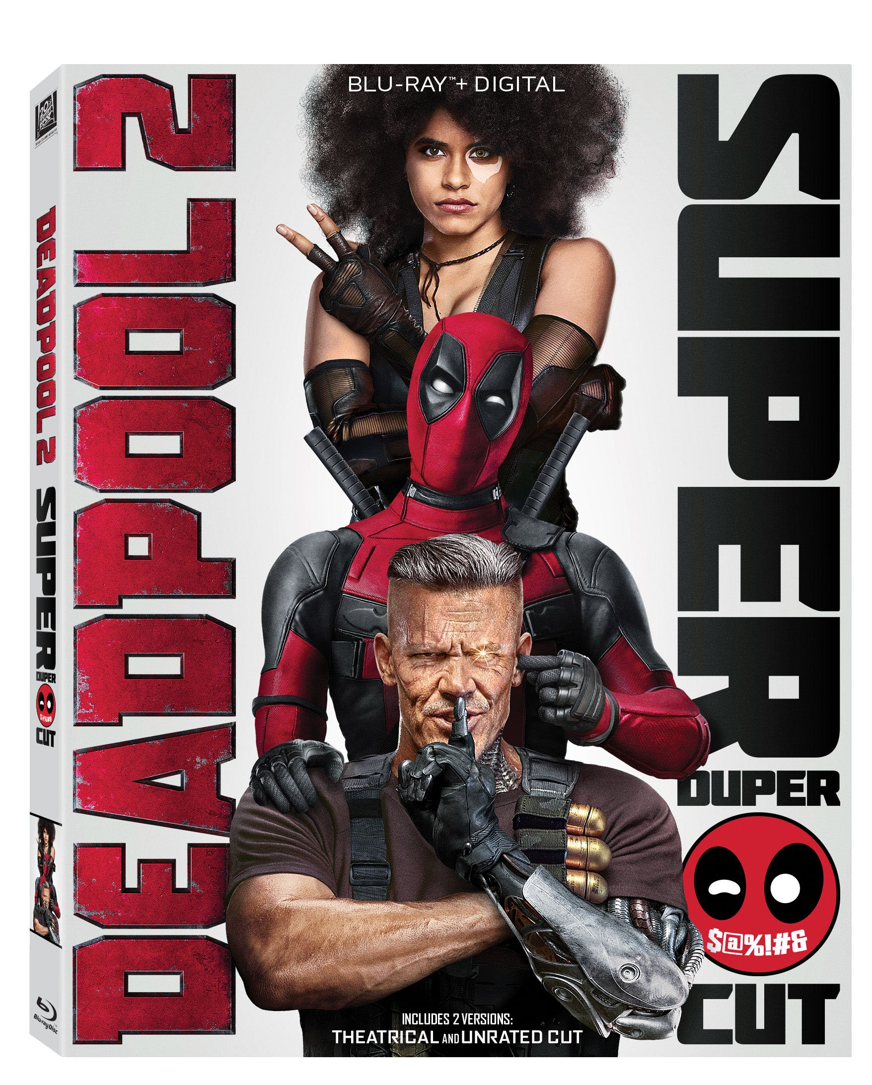 Blu-ray : Deadpool 2 (With DVD, Subtitled, Widescreen, Dolby, Digital Theater System)