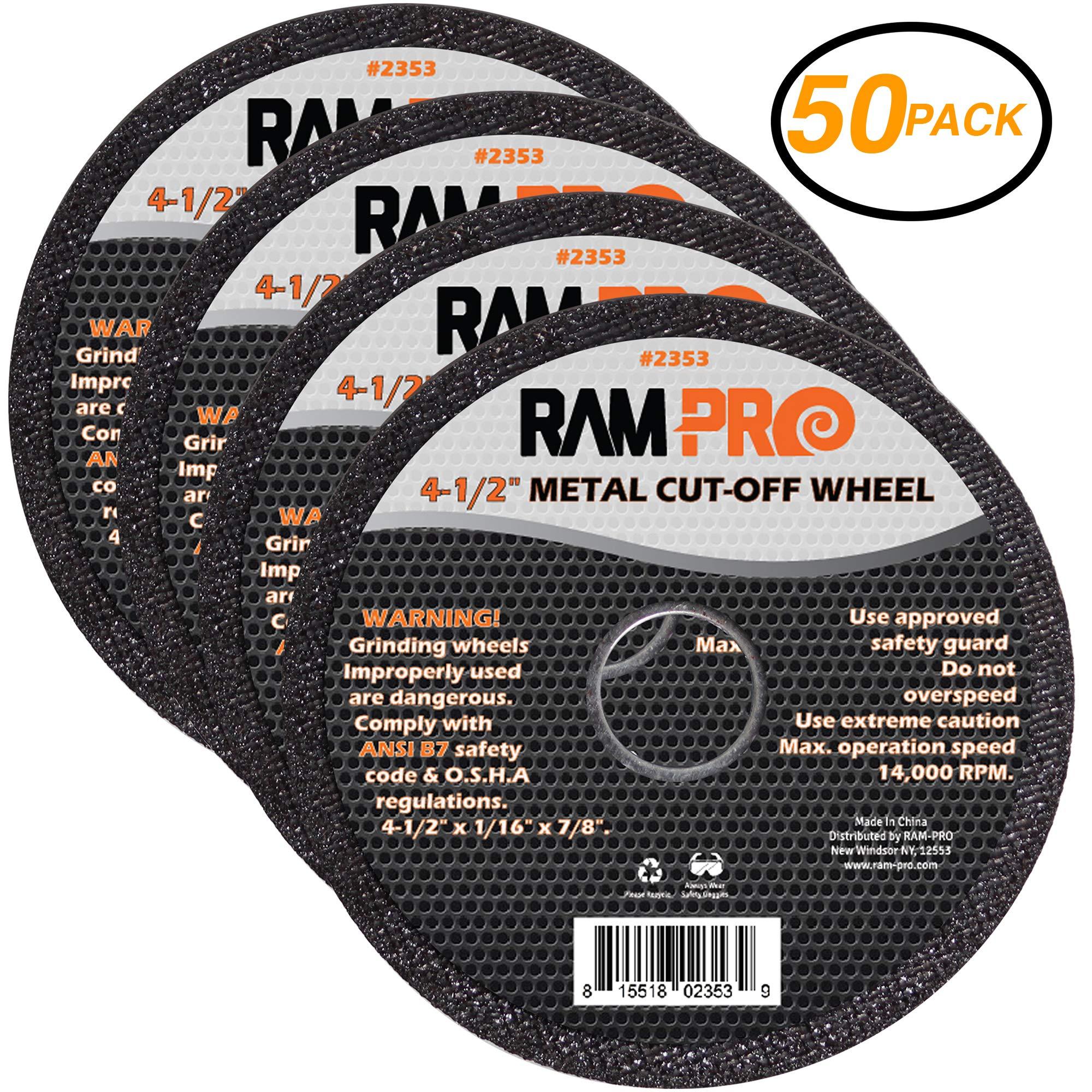 """Neiko Pro Cut Off Wheel Steel for Metal 4 1//2/"""""""