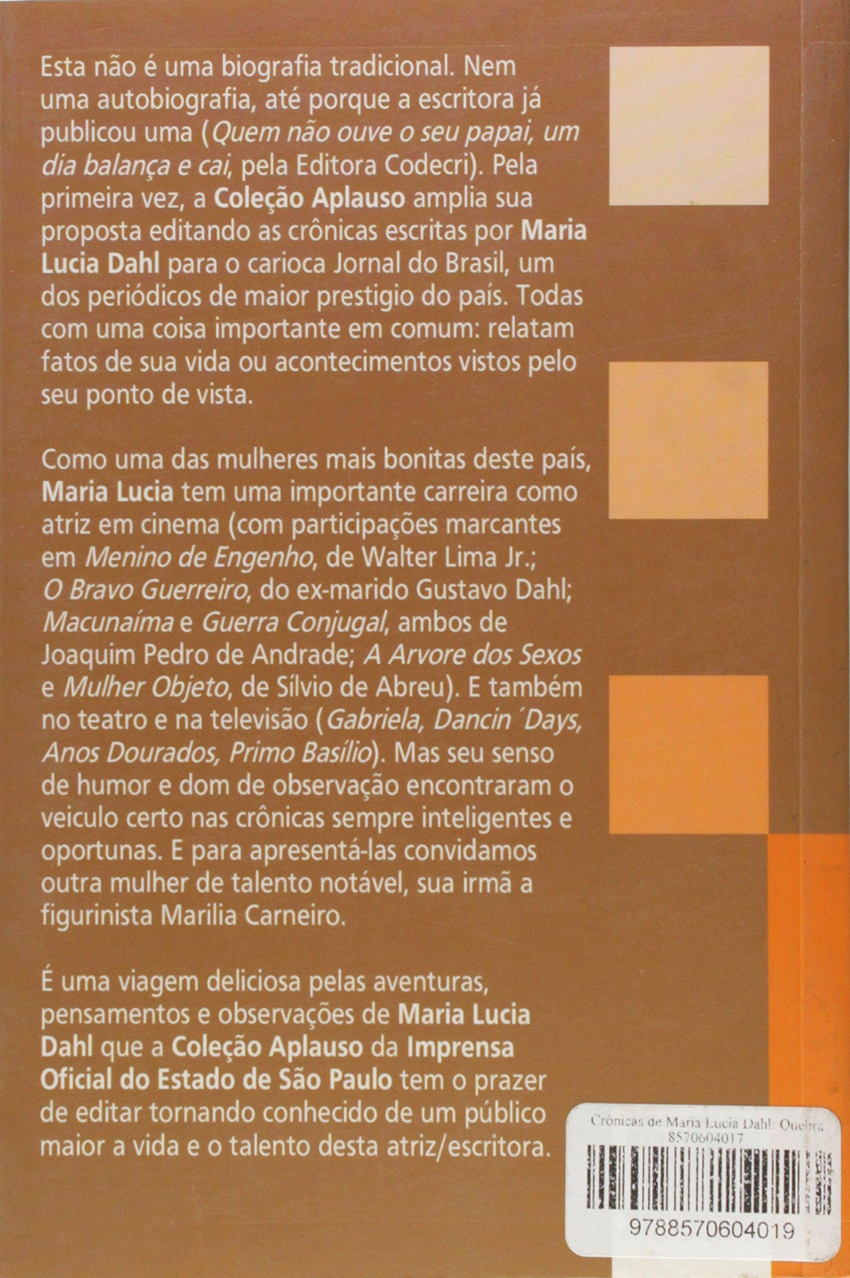Maria Lucia Dahl Nude Photos 7