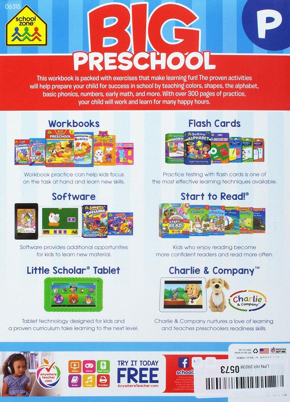 Amazon.com: Big Workbook-Preschool - Ages 3-5: Office Products