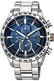 [シチズン] 腕時計 アテッサ エコ・ドライブ電波時計 ダイレクトフライト ACT Line AT8181-63L メンズ シルバー