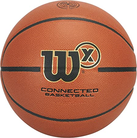 Wilson WTB0300ID X Connected Smart Basketball SIZE 28.5 Composite Leather Indoor
