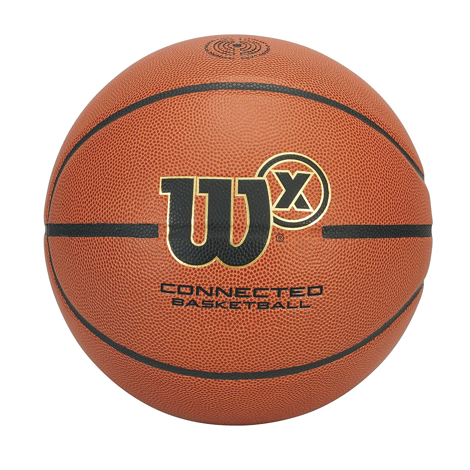 Image of Basketballs Wilson X Connected Smart Basketball with Sensor That Tracks Shots