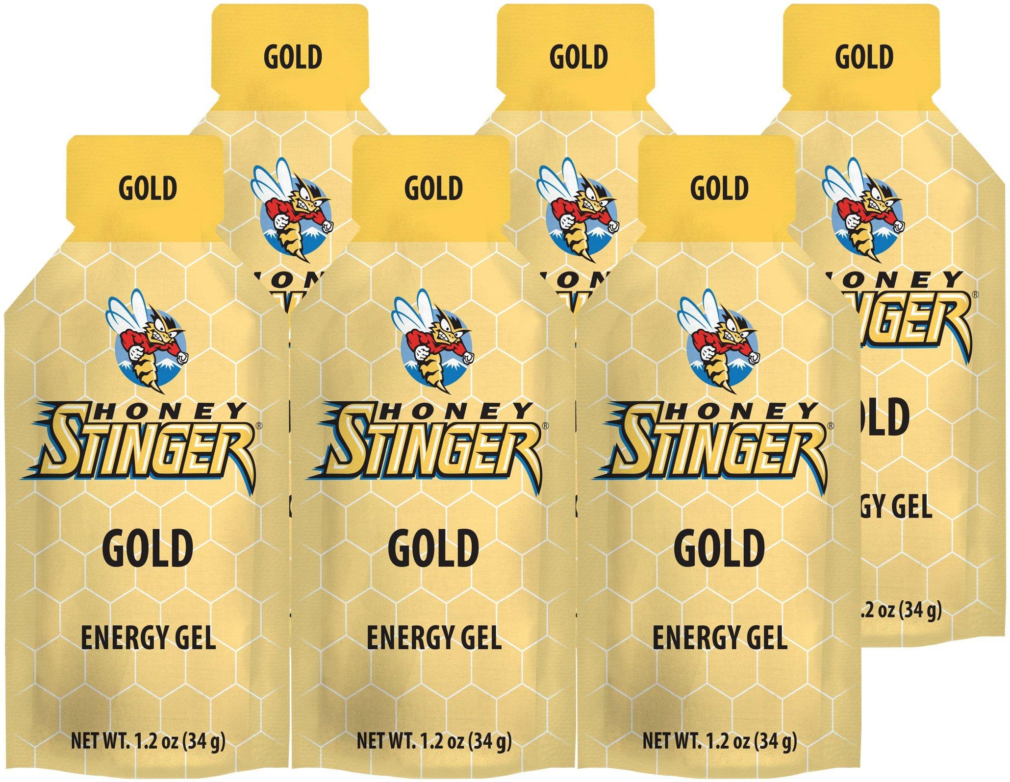 Honey Stinger Gold Classic Energy Gel (6 x 1.2oz Packs) by Honey Stinger