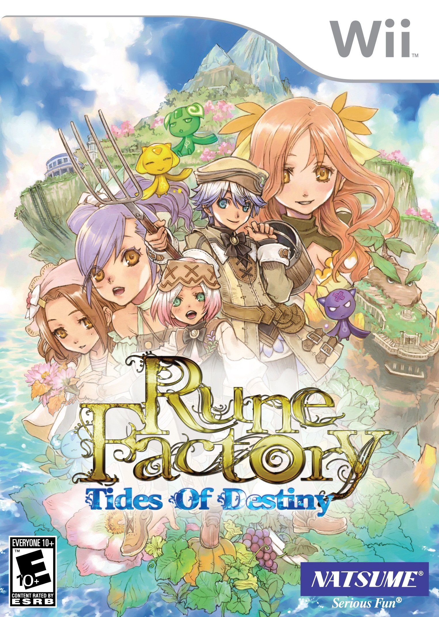 Rune Factory: Tides of Destiny - Nintendo Wii