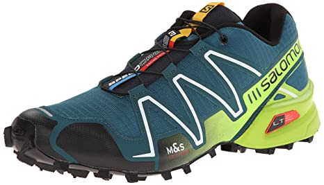 new concept 01cf6 161ef Salomon L37076200 Speedcross 3 Running Shoes, UK 12.5 (Cobalt Blue Green)