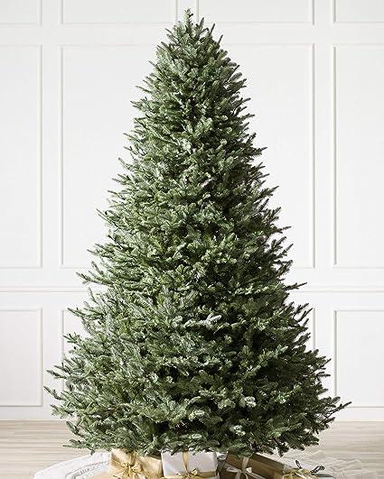 balsam hill bh balsam fir premium artificial christmas tree 9 feet unlit
