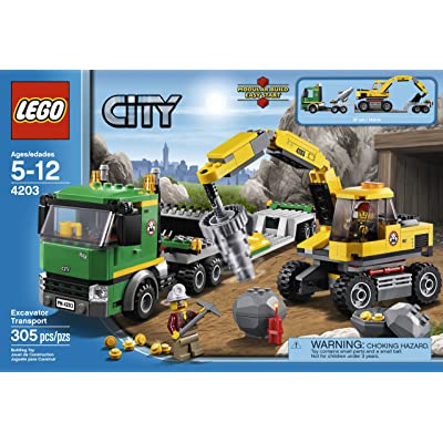 LEGO City Excavator Transport 4203: Lego City: Toys & Games