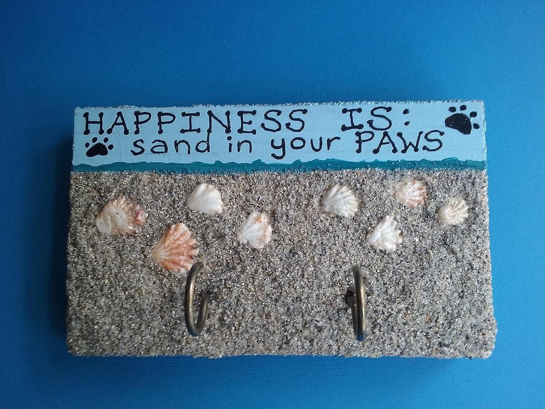 Dog Paw Print Leash Holder