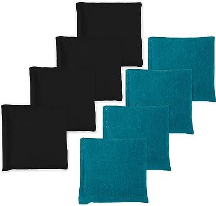 Regulation Cornhole bags set of 8 Regulation All Weather Resin Plastic