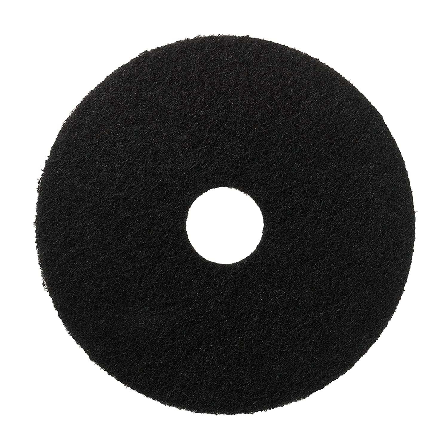 Scotch-Brite™ Floor Pads, Black, 254 mm, 5/Case 3M 7000077580