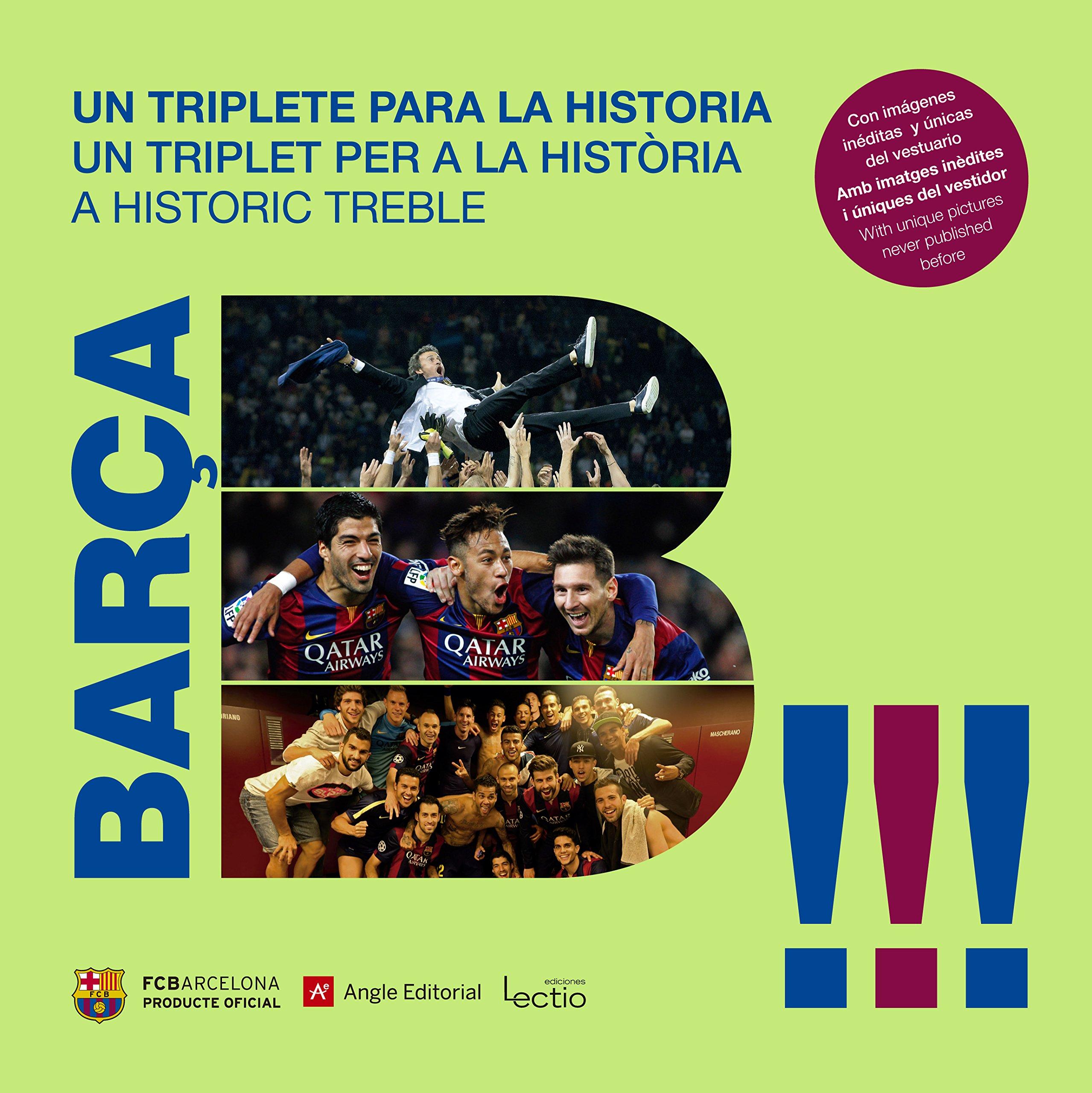 Barça. Un Triplete Para La Historia (Otros)  Amazon.es  Joan Josep Pallàs  Martí b3a9587b15b