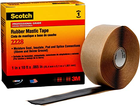 3m 2228 Scotch Moisture Sealing Electrical Tape 1 In X 10 Ft X 0 65 In Air Tool Accessories Amazon Canada