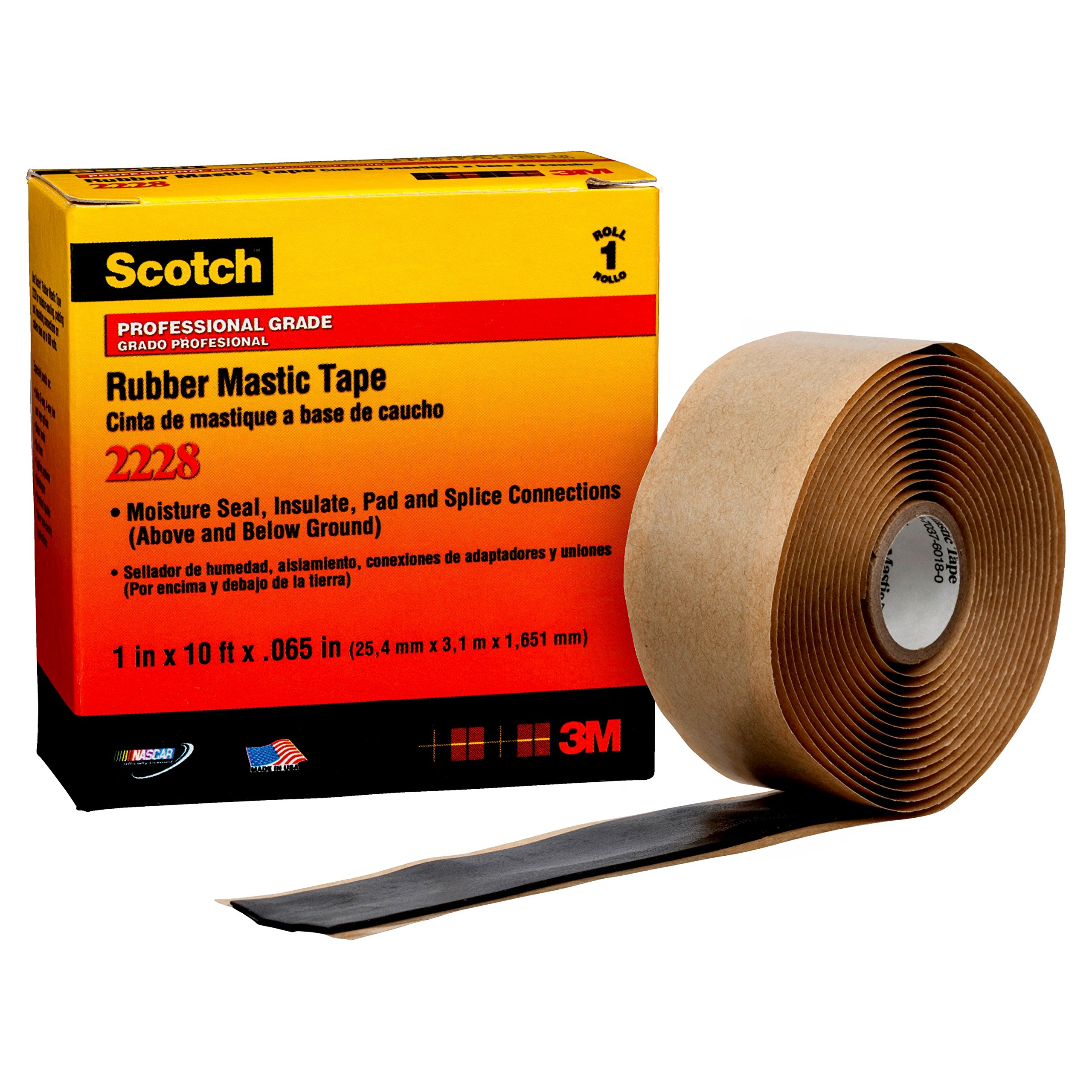 3m 2228 Scotch Moisture Sealing Electrical Tape 1 In X Outdoor Boxes Use Rubber Gaskets To Seal Out Weather 10 Ft 065 Industrial Scientific