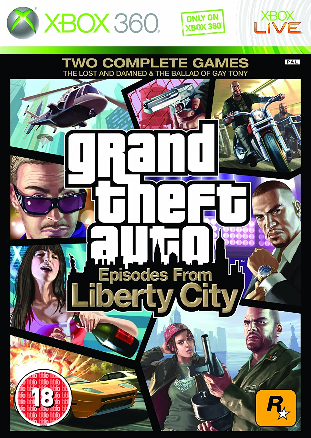 Grand Theft Auto: Episodes from Liberty City (Xbox 360 ...