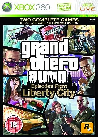 Grand Theft Auto: Episodes from Liberty City (Xbox 360) [Importación inglesa]: Amazon.es: Videojuegos
