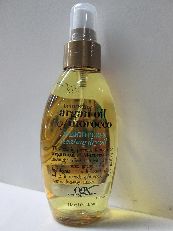 Organix Argan Weightless Healing Dry Oil, 4-Ounce 91620