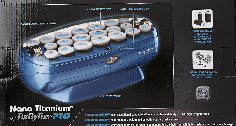 Amazon.com: BaBylissPRO Nano - Rodillo de titanio: Luxury Beauty
