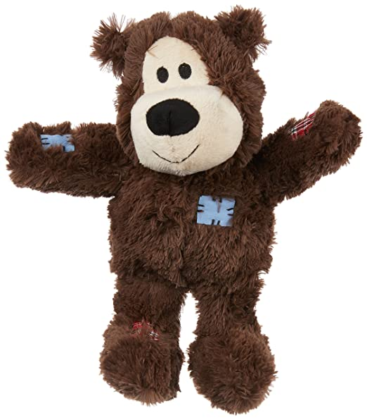 7 opinioni per KONG Wild Knots Squeaker Bears for Dogs, Medium/Large, Colors Vary