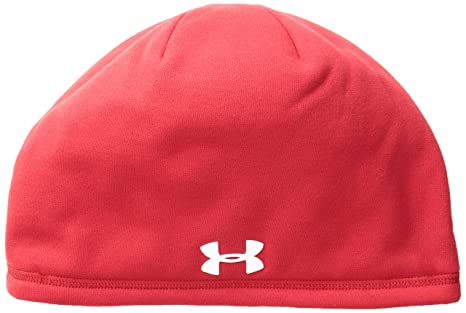 0801e86a1be Amazon.com  Under Armour UA Storm ColdGear Infrared Beanie OSFA Red ...