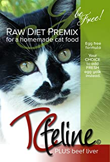 Amazon tcfeline raw cat food premix supplement to make a tcfeline raw cat food supplement premix for a homemade all natural grain free forumfinder Choice Image