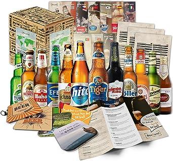 Cervezas del mundo (12 botellas) especialidades internacionales de cerveza para regalar - Las mejores cervezas del mundo