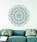 Mandala Wall Decal Mandala Art Prints for Wall Made in the USA