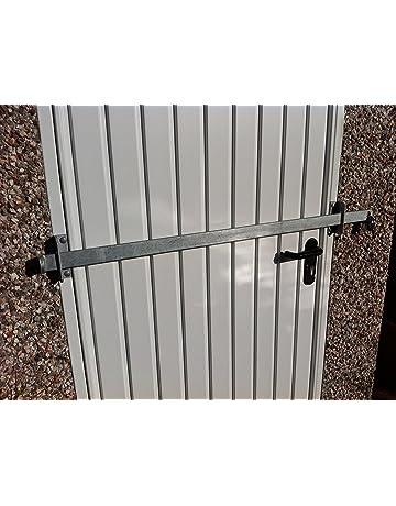 Barrera de bloqueo para cobertizo de jardín, de fábrica, puerta de oficina, seguridad