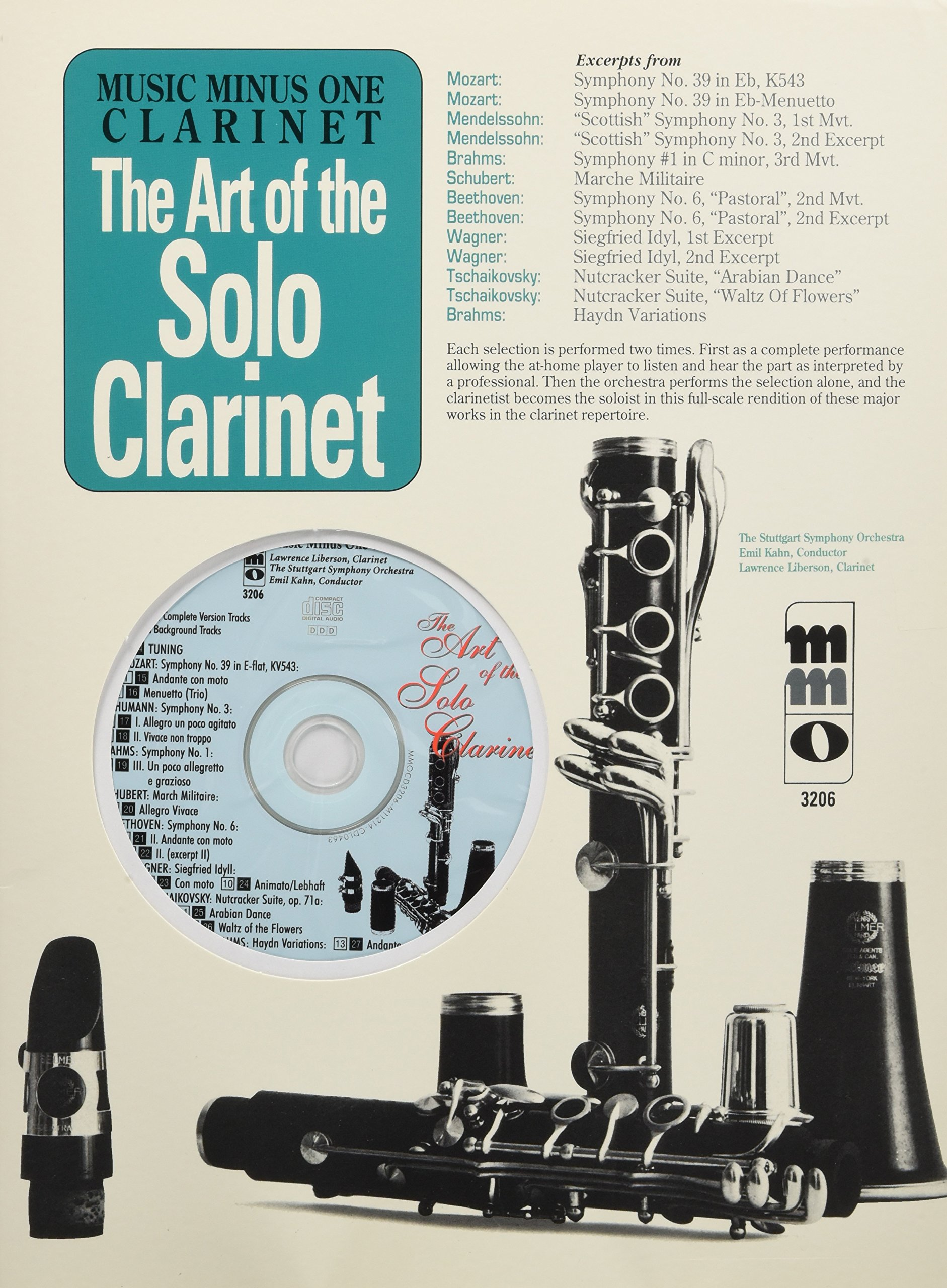 Art of the Solo Clarinet: Orchestral Excerpts PDF