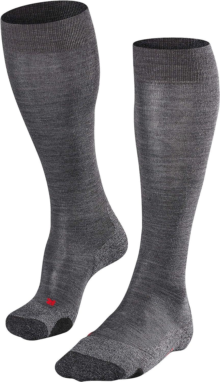 FALKE Women TK1 Trekking Socks EU 35-42 UK sizes 2.5-8 Strong cushioning breathable sweat wicking 1 Pair warm fast drying Multiple Colours Merino Wool Blend