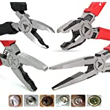 VAMPLIERS. Best Made Pliers! 4-PC Set S4B Patented Specialty Screw Extractions Pliers. Extract Stripped Stuck Security, Corroded or Rusted Screws/Nuts/Bolts