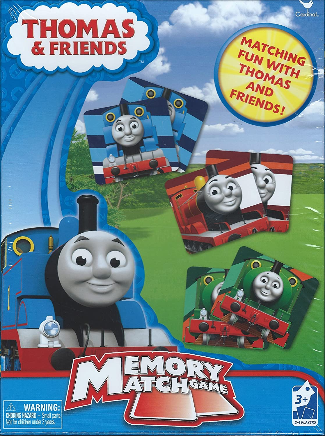 Amazon.com: Thomas and Friends Memory Match Card Game: Toys & Games