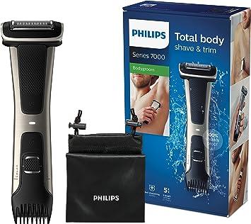 Philips Serie 7000 BG7025/15 - Afeitadora corporal con cabezal de ...
