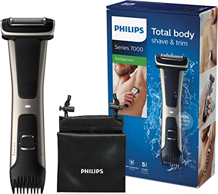 Philips BG7025/15 Bodygroom Series 7000 with Integrated Comb Attachment (3 to 11 mm): Amazon.de: Drogerie & Körperpflege